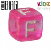 Carlo Biagi Kidz Bead Buchstabe F Beads für Armband KSPPLF