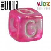 Carlo Biagi Kidz Bead Buchstabe G Beads für Armband KSPPLG