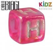 Carlo Biagi Kidz Bead Buchstabe H Beads für Armband KSPPLH