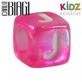 Carlo Biagi Kidz Bead Buchstabe J Beads für Armband KSPPLJ