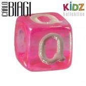 Carlo Biagi Kidz Bead Buchstabe Q Beads für Armband KSPPLQ