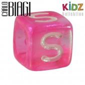 Carlo Biagi Kidz Bead Buchstabe S Beads für Armband KSPPLS