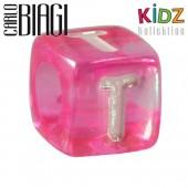 Carlo Biagi Kidz Bead Buchstabe T Beads für Armband KSPPLT
