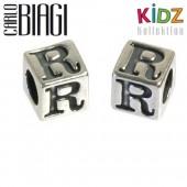 Carlo Biagi Kidz Bead Buchstabe R Silber Beads KSSLR