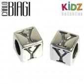 Carlo Biagi Kidz Bead Buchstabe Y Silber Beads KSSLY