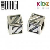 Carlo Biagi Kidz Bead Buchstabe Z Silber Beads KSSLZ