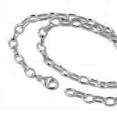 SilberDream Sterling Silber Charm Bettel Halskette 50cm FC0022