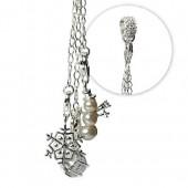 SilberDream Silber Charm Winter Geschenk Armband Anhänger FCA047