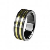 SilberDream Titan Ring Herren Damen Titanringe Gr.21 RXT4311
