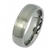 SilberDream Wolfram Ring Gr.20mm Herren Damen Schmuck RXW033