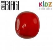Carlo Biagi Kidz Glas Bead rot KBG05R
