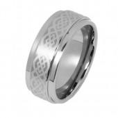 SilberDream Wolfram Ring Gr.18 Herren Damen Schmuck RXW1208