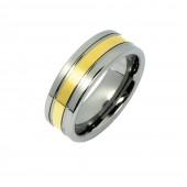 SilberDream Wolfram Ring Gr.18 Herren Damen Schmuck RXW1918