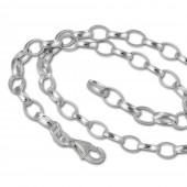 SilberDream Sterling Silber Charm Bettel Halskette 100cm FC0127