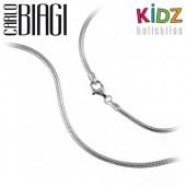 Carlo Biagi Kidz Bead Armband Silber für Beads KBRS17
