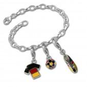 SilberDream Silber Charm Set 2014 Ball Anhänger Armband FCA067
