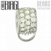 Carlo Biagi Carrier für Charms 925 Silber BCBSCZ01C