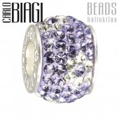 Carlo Biagi Swarovski Elements Bead Blume BBSCR02PR