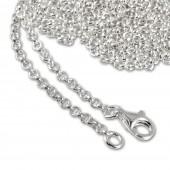 SilberDream Sterling Silber Charm Kette Halskette 90cm FC00289-1