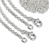 SilberDream Sterling Silber Charm Halskette 2x90cm FC00289-2