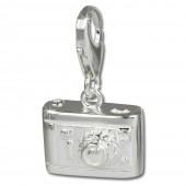 SilberDream 925 Silber Charm Fotoapparat Armband Anhänger FC637