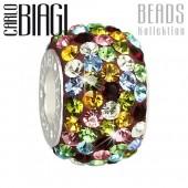Carlo Biagi Swarovski Elements Bead Ring bunt BBSCR06MCP
