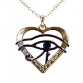SilberDream Schmuck Anhnger Auge des Ra gypten mit Kette EK084