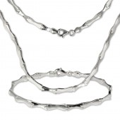 SilberDream Schmuck Set Collier Armband Style 925 Silber SDS405