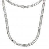 SilberDream Collier Kette Trendy 925 Silber 45,5cm Halskette SDK407