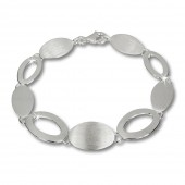 SilberDream Armband Grazie 925 Vollsilber 18,5cm Silberarmband SDA408