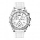 TIMEX Uhr wei Damenuhr TIMEX Classic Uhren Kollektion UT2N830