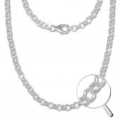 SilberDream Erbskette rund 925er Silber Halskette 45cm Kette SDK20845