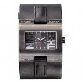 Bruno Banani Herren Uhr PVD schwarz Alpha Uhren Kollektion UBR20883