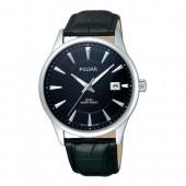 Pulsar Damenuhr mit Lederband schwarz Klassik Uhren Kollektion UPS9031