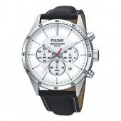 Pulsar Herrenuhr Chronograph weiss Modern Uhren Kollektion UPT3007