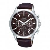 Pulsar Herrenuhr Chronograph braun Modern Uhren Kollektion UPT3067