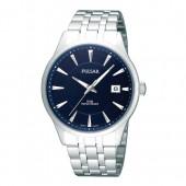 Pulsar Herrenuhr mit Metallband blau Klassik Uhren Kollektion UPS9025