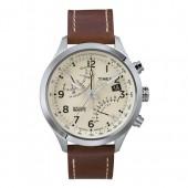 TIMEX Uhr braun-beige Herrenuhr TIMEX IQ Uhren Kollektion UT2N932