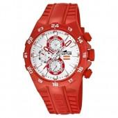 Lotus Unisexuhr Chronograph rot-wei Khrono Uhren Kollektion UL158002 UL158002