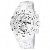 Lotus Unisexuhr Chronograph wei Khrono Uhren Kollektion UL158005 UL158005