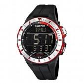 Calypso Herren Chronograph schwarz-rot XXL Uhren Kollektion UK56063 UK56063
