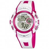 Calypso Chronograph Unisex wei-rosa Digital Uhren Kollektion UK56103 UK56103