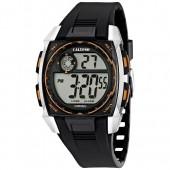 Calypso Herrenuhr Chronograph schwarz-orange Uhren Kollektion UK56194 UK56194