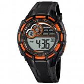 Calypso Herrenuhr Chronograph schwarz-orange Uhren Kollektion UK56255 UK56255