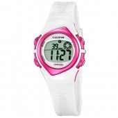Calypso Damenuhr Chronograph wei-rosa Uhren Kollektion UK56302 UK56302