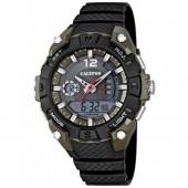 Calypso Herrenuhr Chrono schwarz-anthrazit AnalDigi Uhren UK56263 UK56263