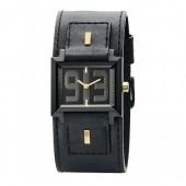 Bruno Banani Damen Uhr schwarz-gold Veros Ladies Kollektion UBR20981