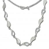SilberDream Collier Trne 925 Sterling Silber 45cm Halskette SDK415