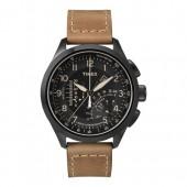 TIMEX Uhr schwarz-braun Herrenuhr TIMEX IQ Uhren Kollektion UT2P277
