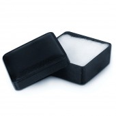 IMPPAC Ring und Schmuck Schachtel blau Etui Verpackung 40x40 VE030